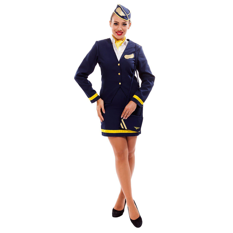 Stewardess-Kostüm