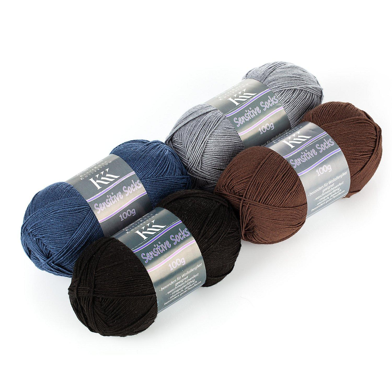 KKK Wolle Sensitive Socks - für Wollallergiker