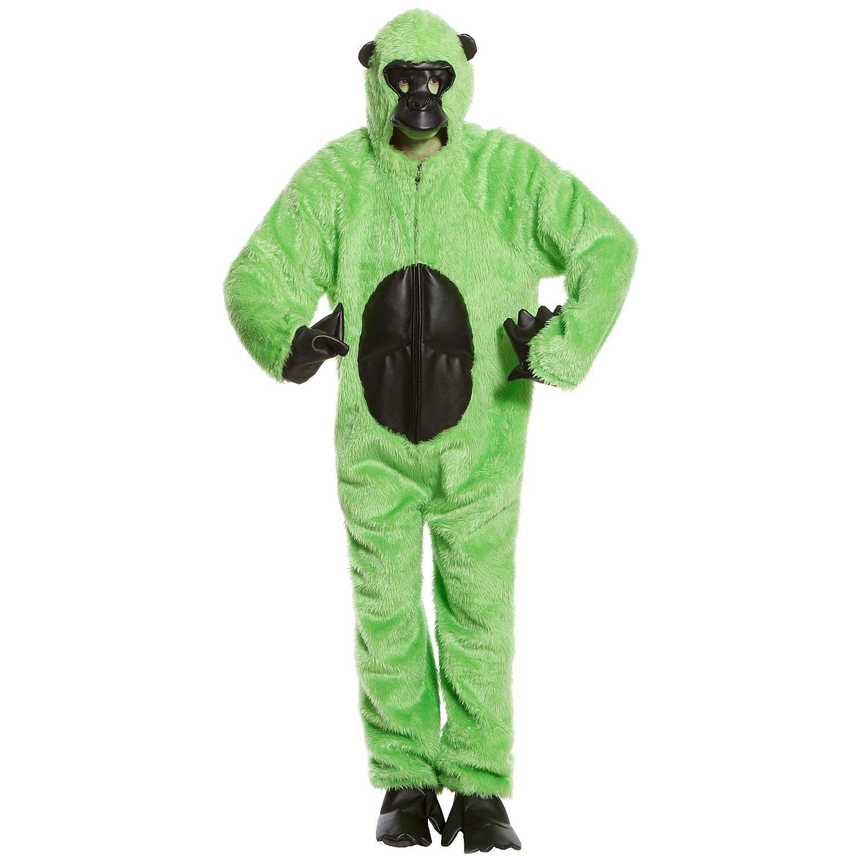 Gorillakostüm Unisex, grün