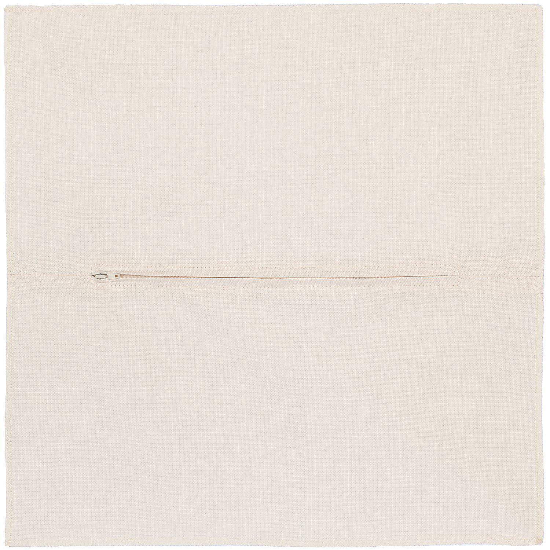 buttinette Kissenrücken ecru, 45 x 45 cm