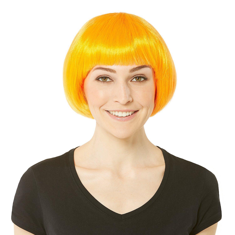 Bob-Perücke, orange