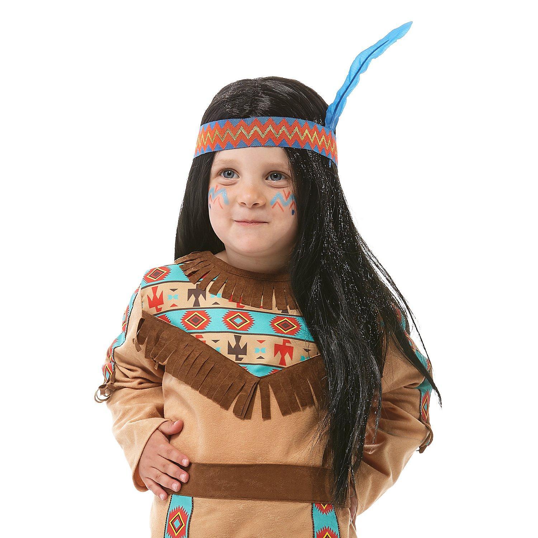 Indianer-Perücke