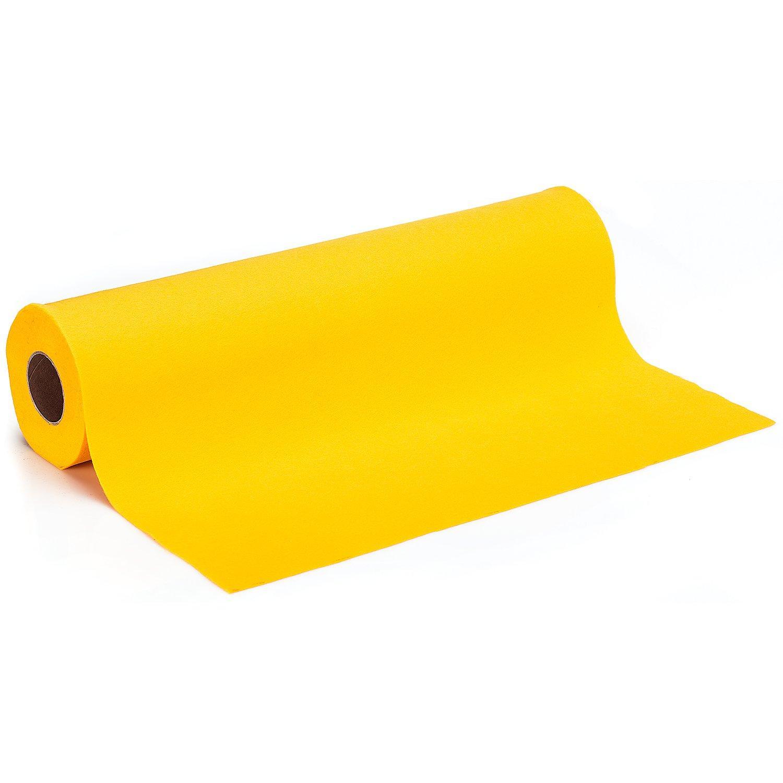 Filz, Stärke 0,9 mm, 10 m Rolle, zitrone