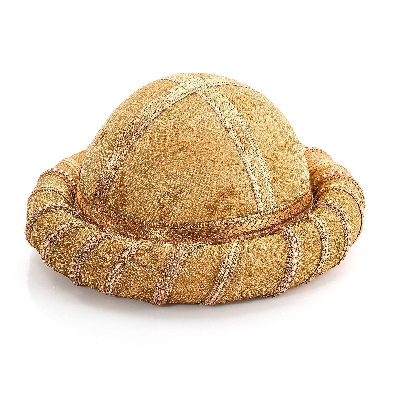 Orientalischer Turban, gold