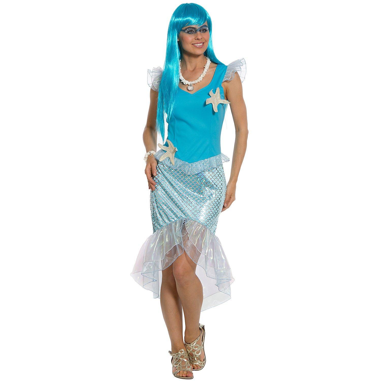 Meerjungfrau Kostüm, türkis