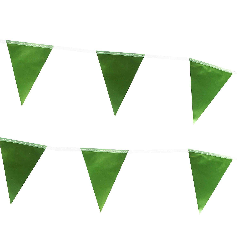 """Wimpelkette """"Metallic"""", grün, 6 m"""