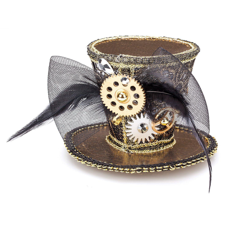 Steampunk Mini-Hütchen