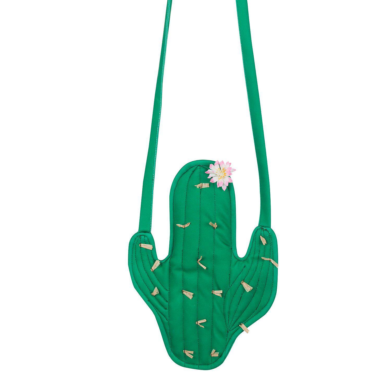 buttinette Kaktus Tasche, grün