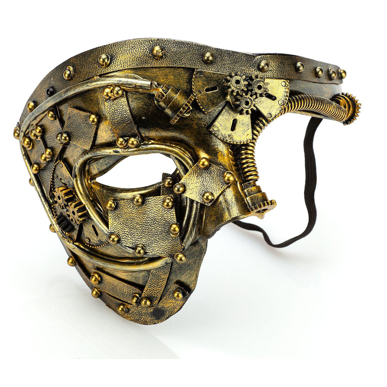 Steampunk-Maske