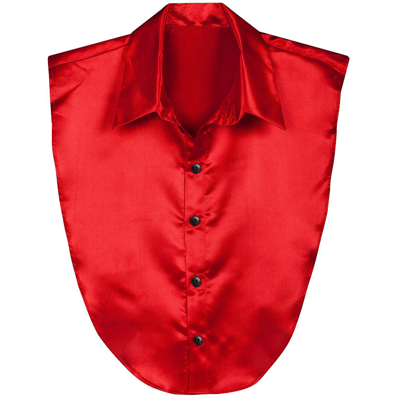 Hemdeinsatz, rot