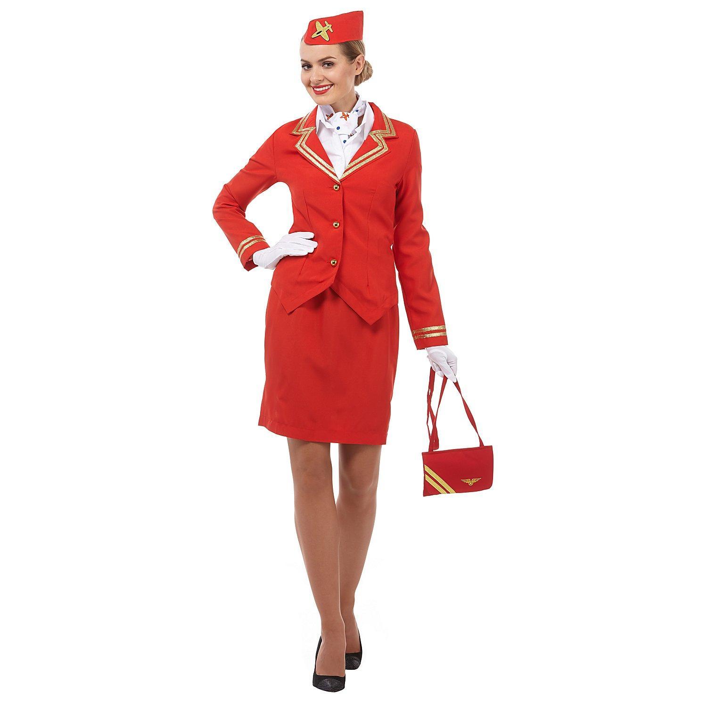 Kostüm Stewardess