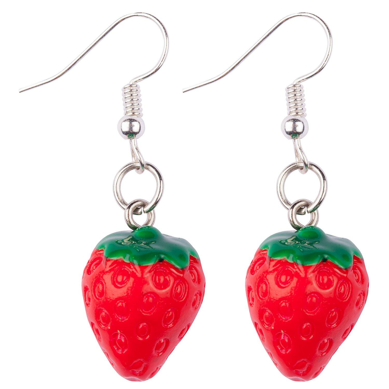 """Ohrringe """"Erdbeere"""