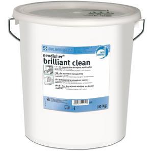 Dr. Weigert neodisher® brilliant clean Geschirrreiniger, Universalreiniiger in Pulverform zum Einsatz in Geschirrspülmaschinen, 10 kg - Eimer