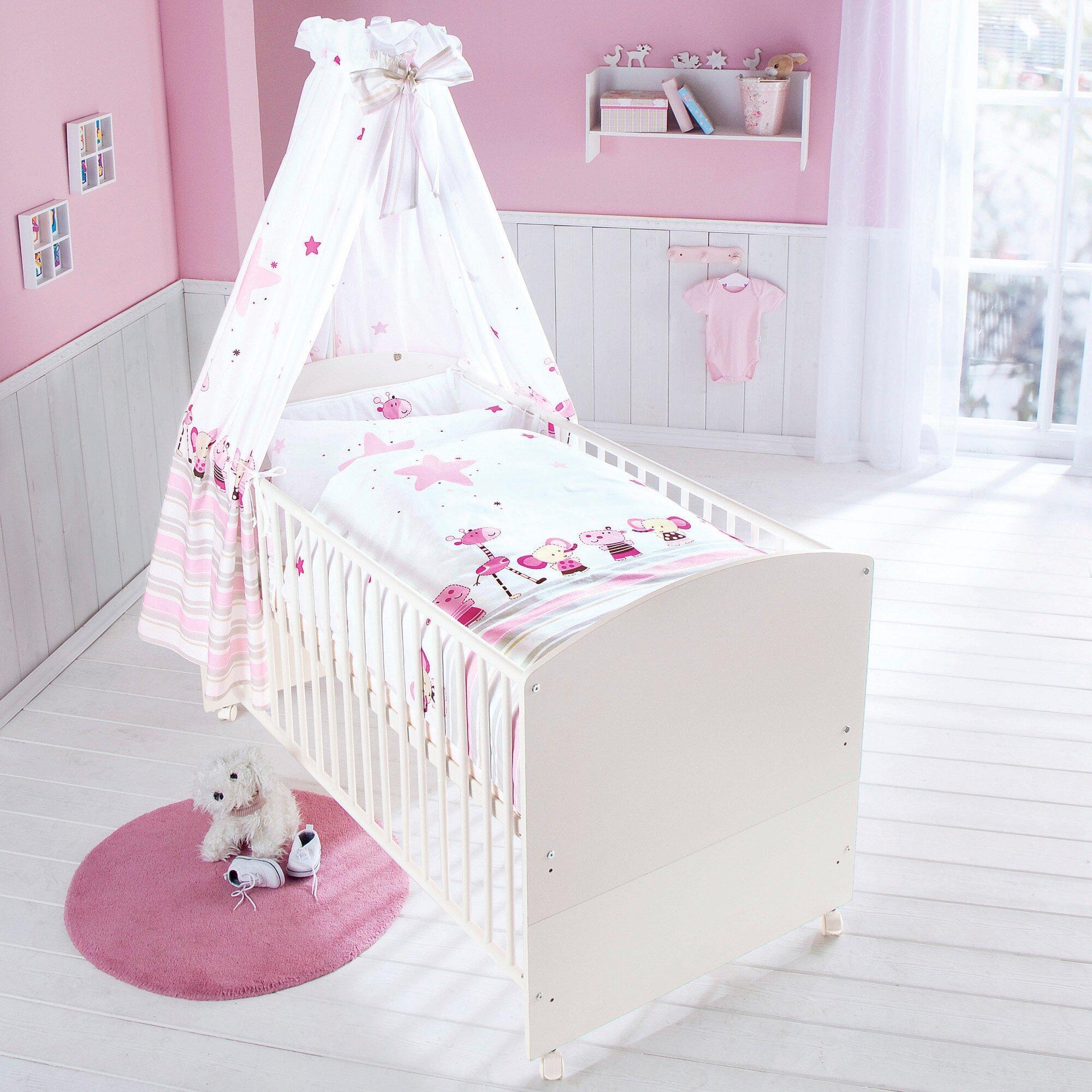 Babybett mit Ausstattung Banjo 70x140 cm