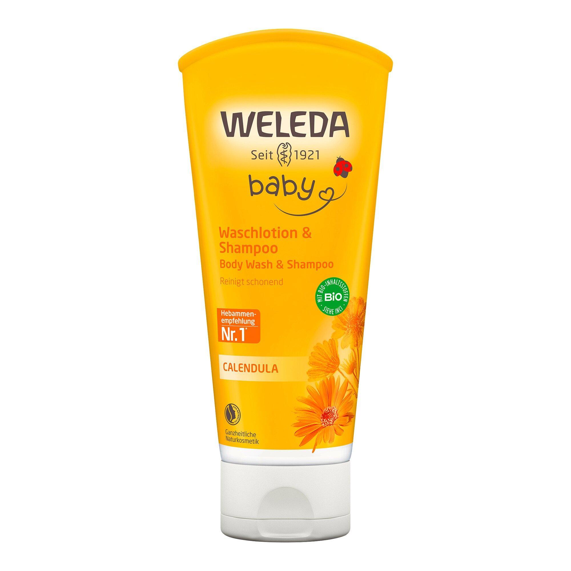Calendula Waschlotion & Shampoo 200 ml