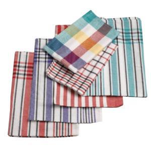 Geschirrtuch, 80% Baumwolle, 20% Polyester, Maße: 50 x 70 cm, Farbe: Bunt, 1 Karton = 10 x 10 = 100 Stück