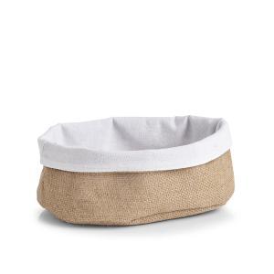 Zeller Aufbewahrungskorb, Universalkorb zur Aufbewahrung von Brot, Gebäck oder Obst, Maße: ca.. 22 x 15 x 10 cm