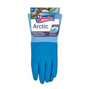 Spontex Arctic Handschuh, Arbeitshandschuh für grobe Arbeiten bei Nässe und Kälte, 1 Paar, Größe: 7-7,5