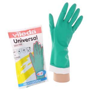 Vileda Professional Nitrilhandschuh, Vielseitiger Handschuh mit hoher Chemikalienbeständigkeit, Größe: S (7)