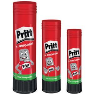 Pritt Klebestift, Lösemittelfreier Kleber ideal für Bastelarbeiten mit Papier, 11 g – Stift