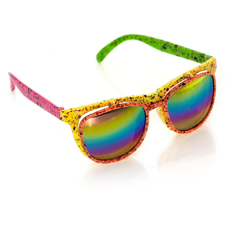 Klappbare 80s-Brille