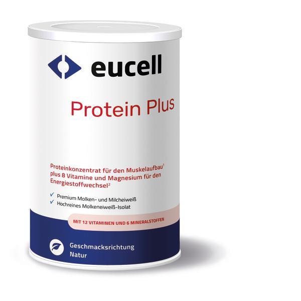 EUCELL Protein Plus - Geschmack: Erdbeere
