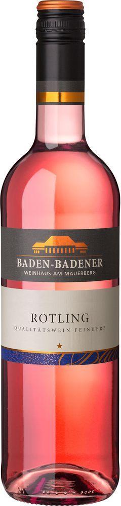 Baden-Badener Weinhaus am Mauerberg 2018 Rotling QbA feinherb