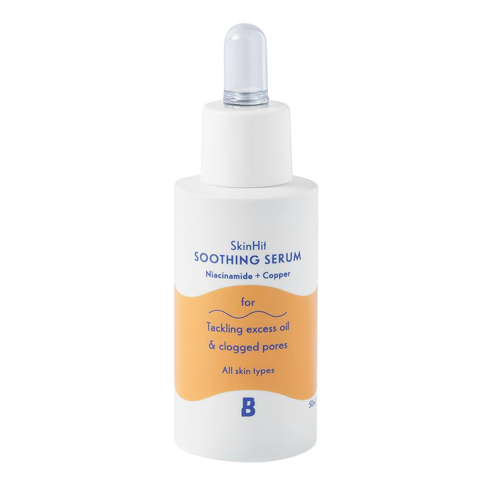 SkinHit Soothing Serum with Niacinamide and Copper