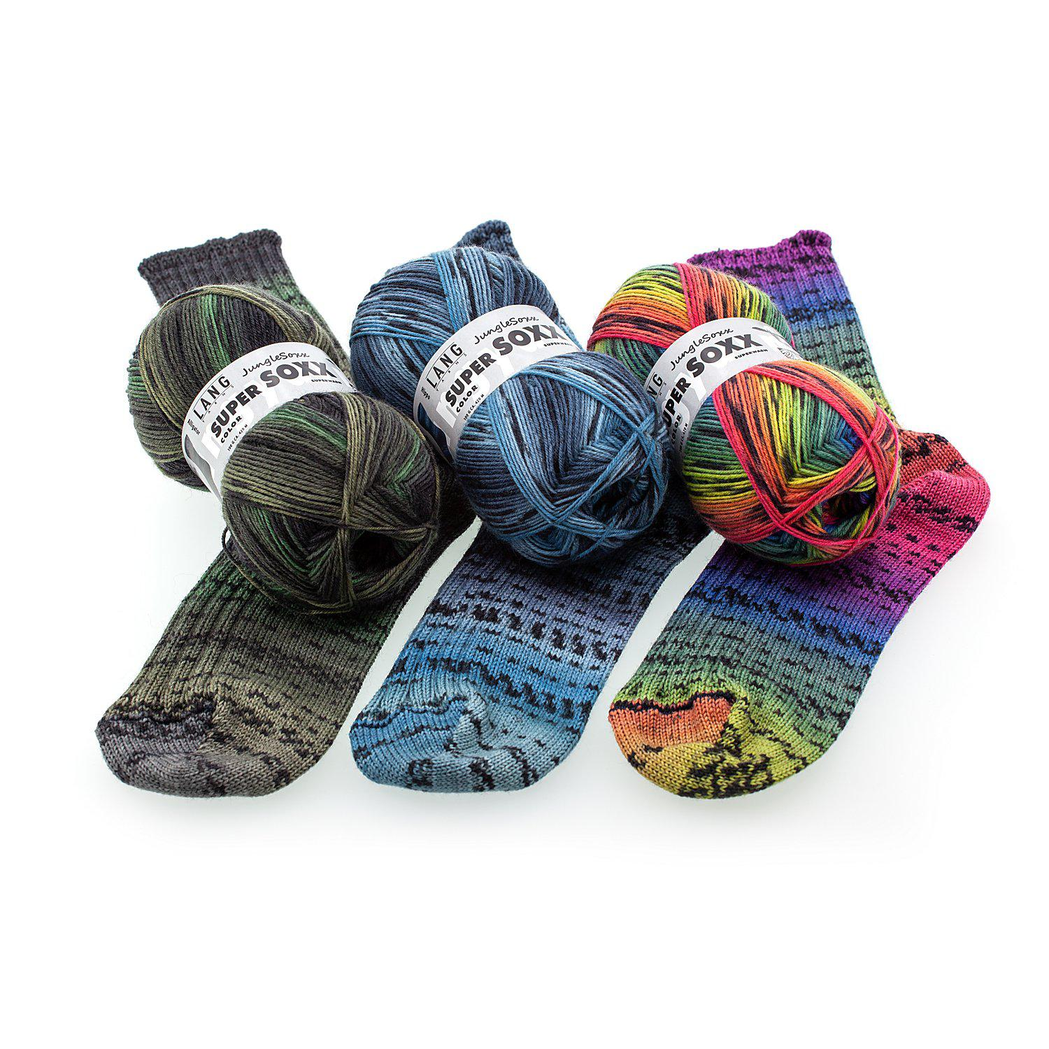 Lang Yarns Sockenwolle Super Soxx