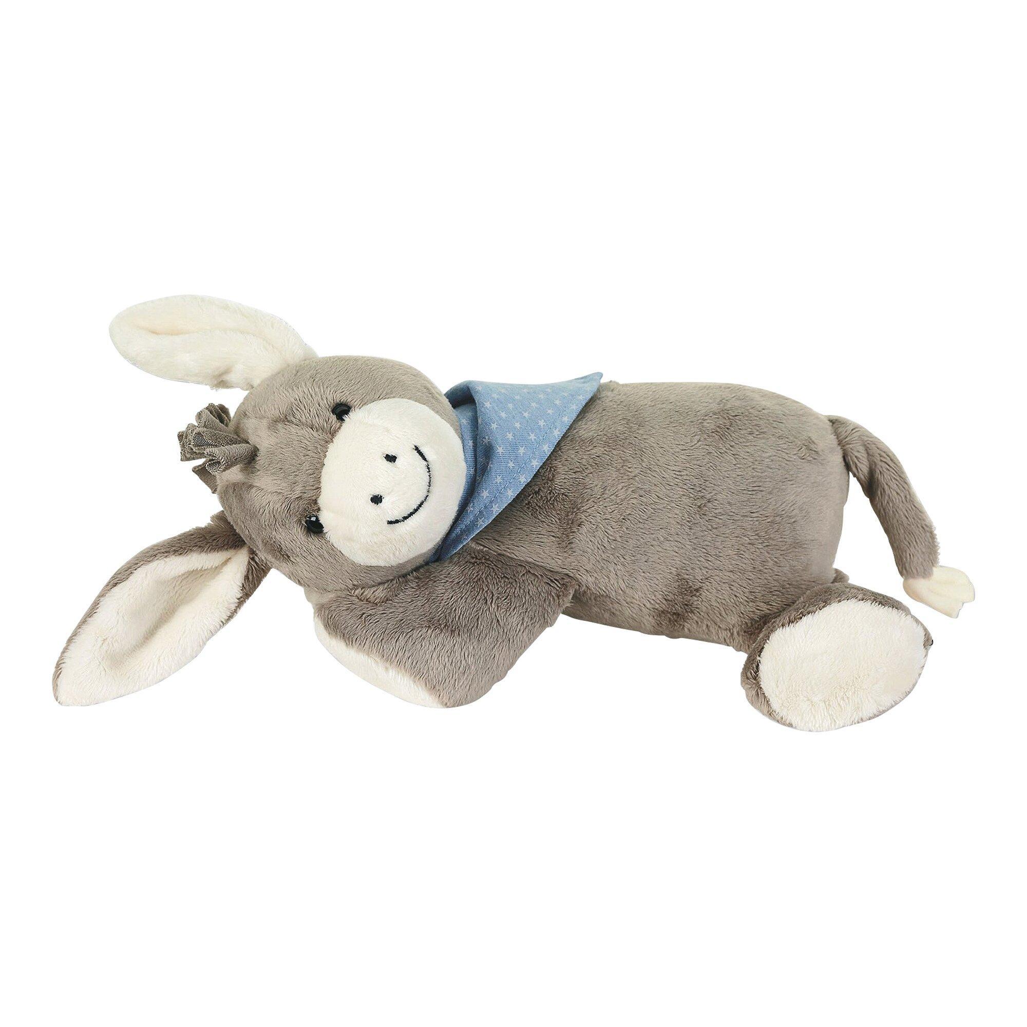 Kuscheltier Schlaf-Gut Figur Esel Emmi mit Herzschlag-Simulation 30cm
