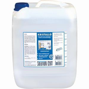 Solution Kristallo Unterhaltsreiniger, Hochkonzentrierter alkalischer Unterhaltsreiniger, 10 l - Kanister