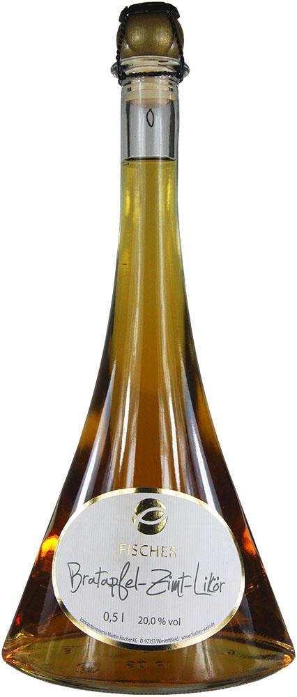 Fischer Bratapfel-Zimt-Likör 0,5L