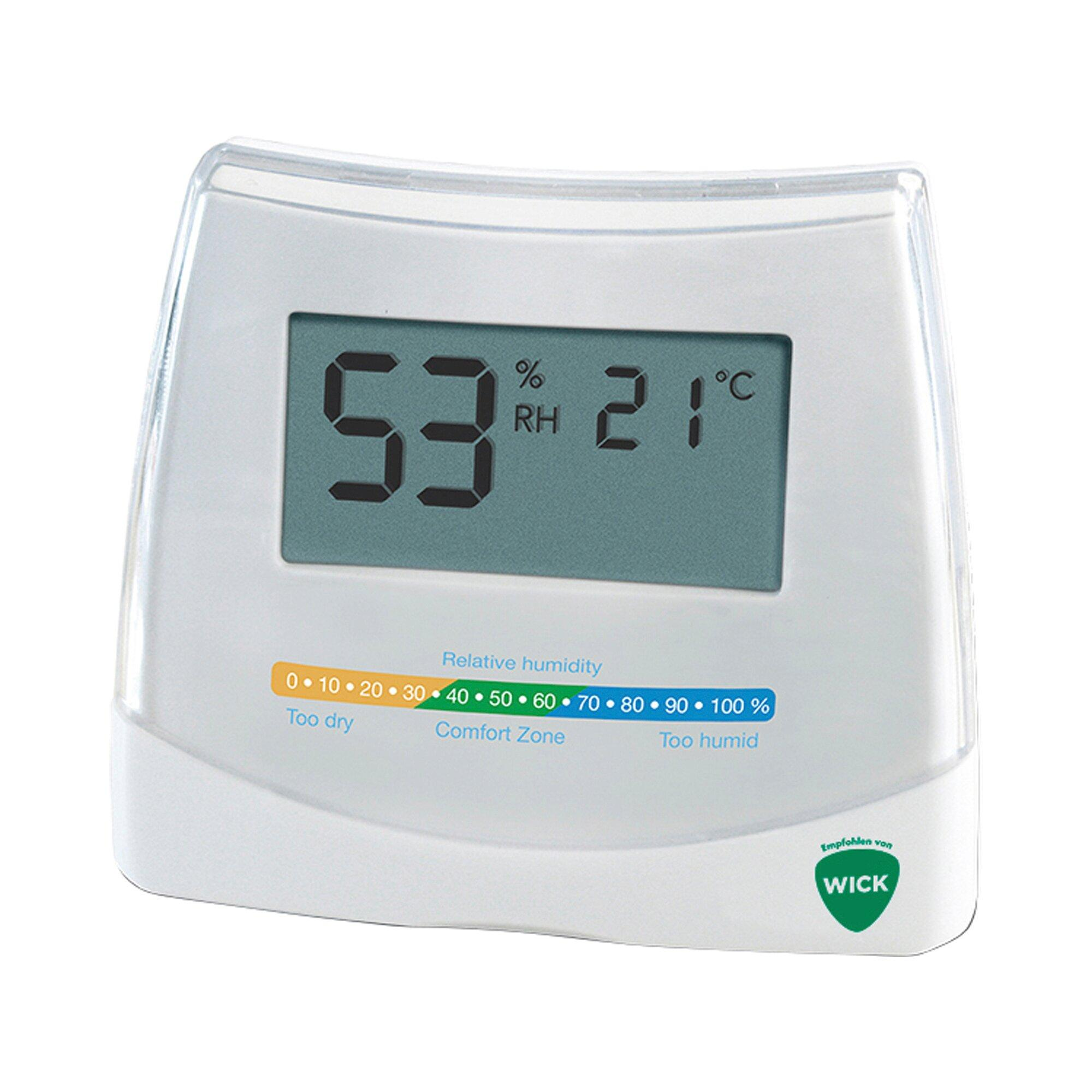 2-in-1 Hygrometer und Thermometer