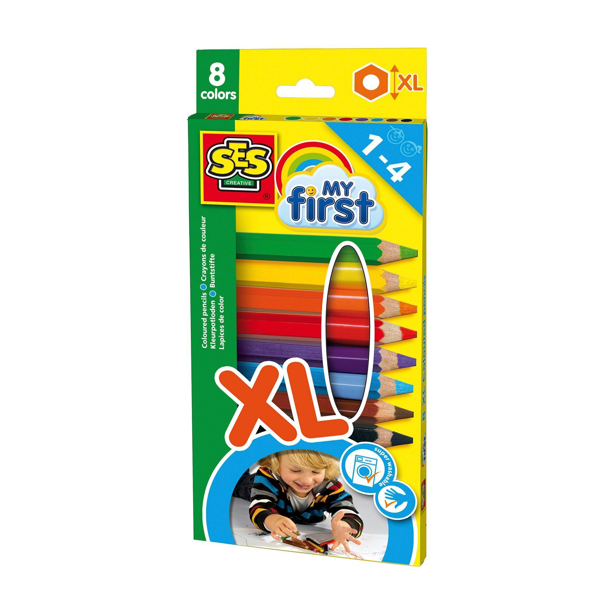Dicke Buntstifte XL