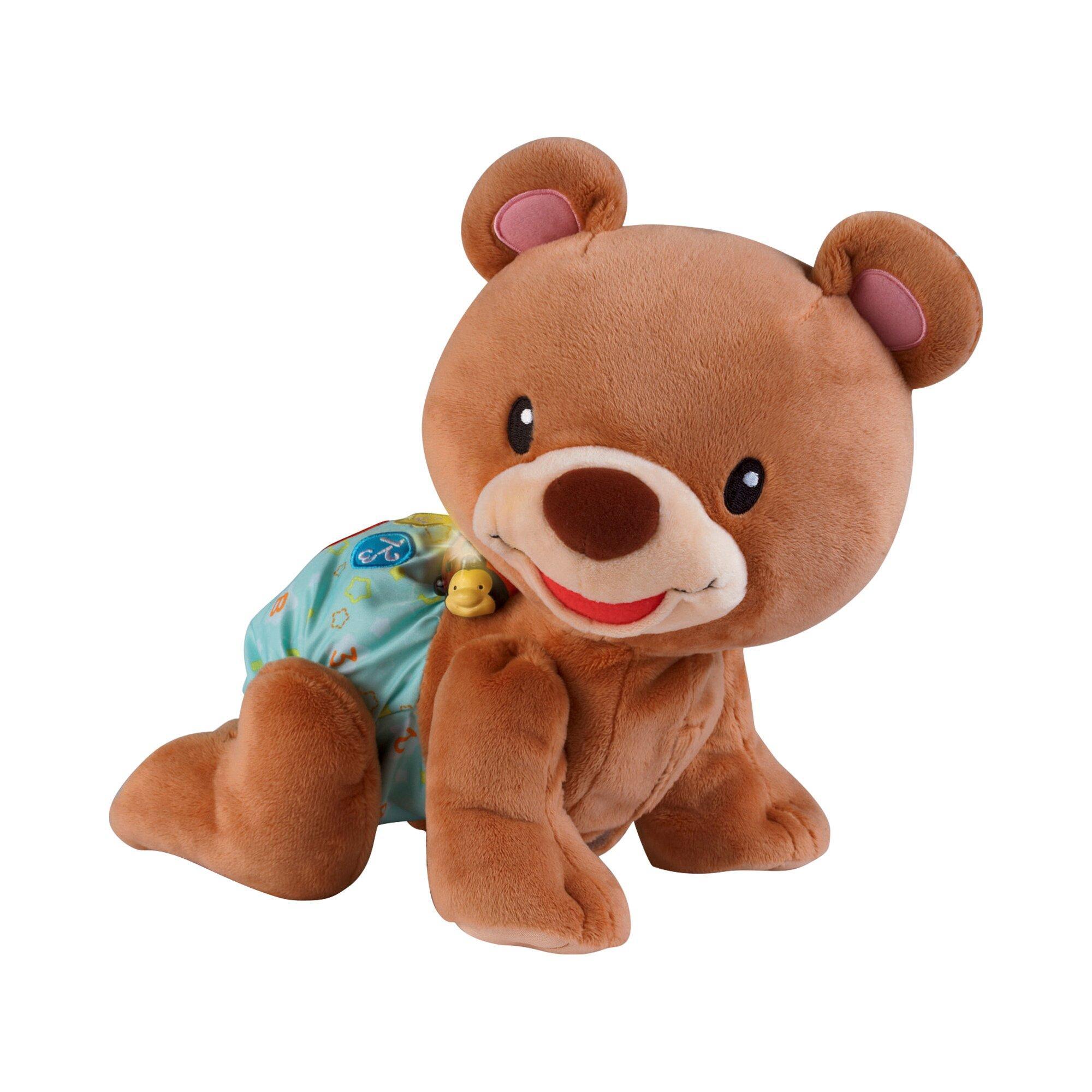 Stoffspielzeug Krabbel mit mir Bär