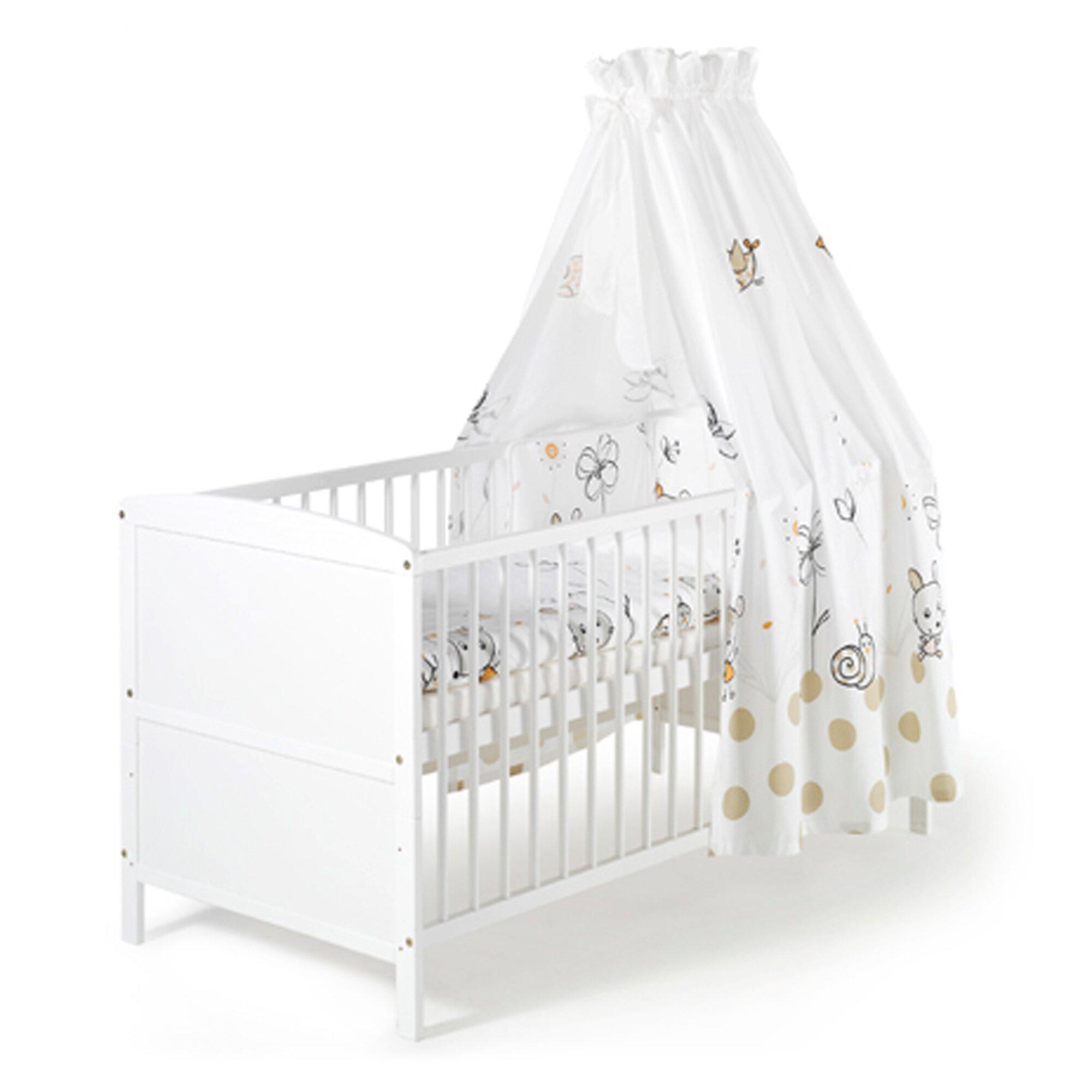 Babybett mit Ausstattung Conny 70x140 cm