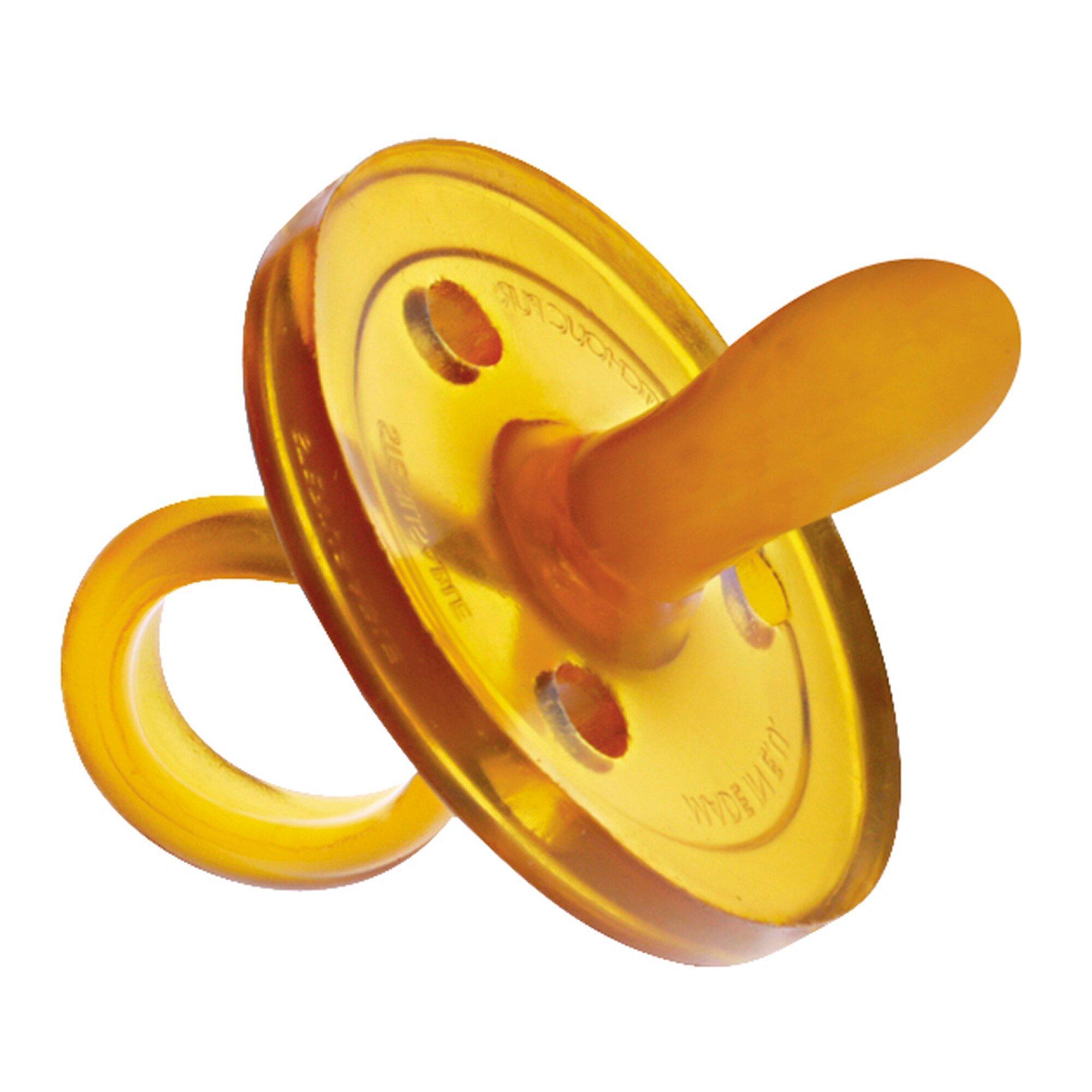 Schnuller ovale Form Naturkautschuk