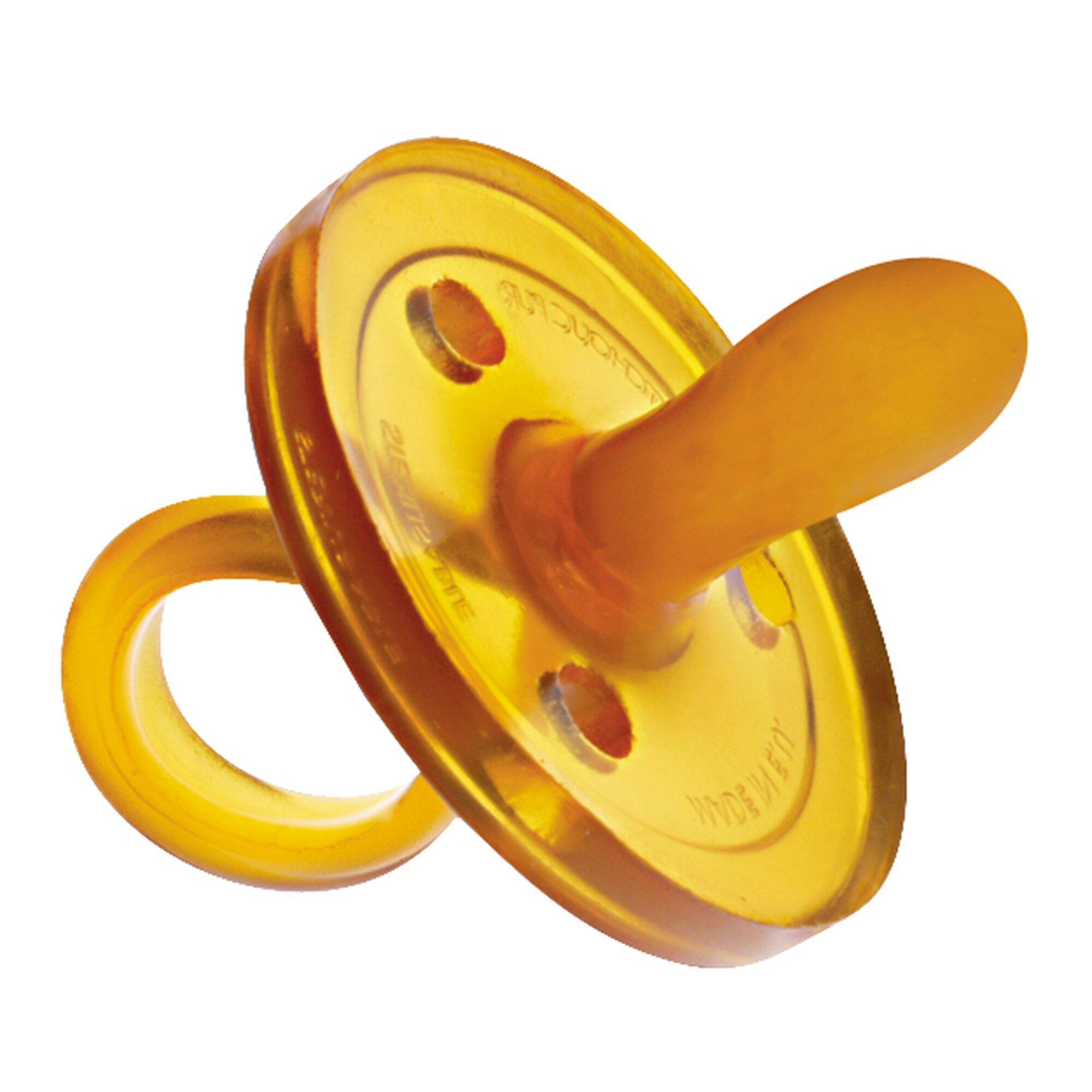 Schnuller ovale Form aus Naturkautschuk