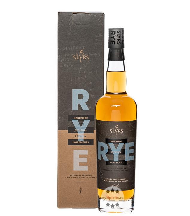 Slyrs Rye Whisky (41 % Vol., 0,7 Liter)
