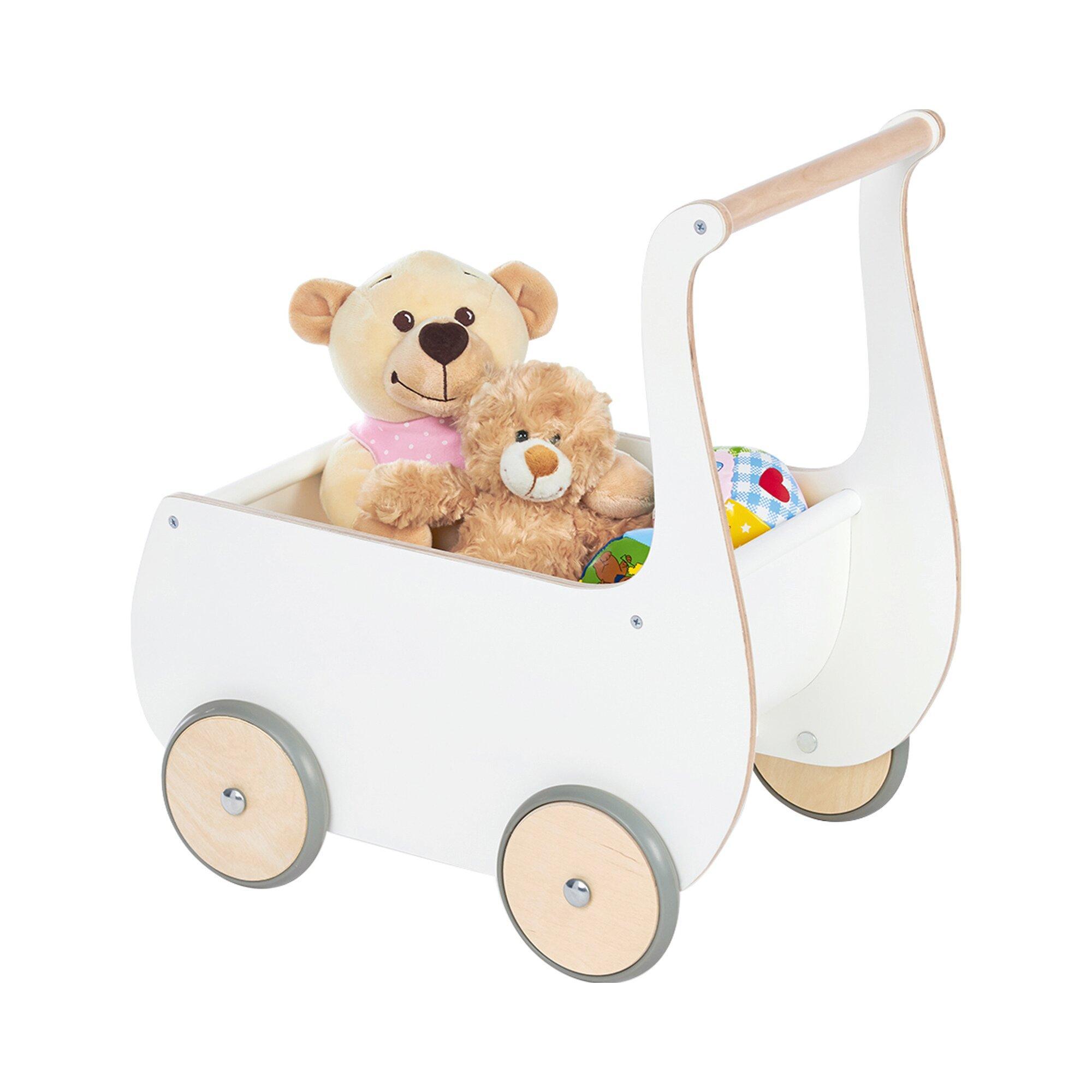 Puppenwagen Mette aus Holz