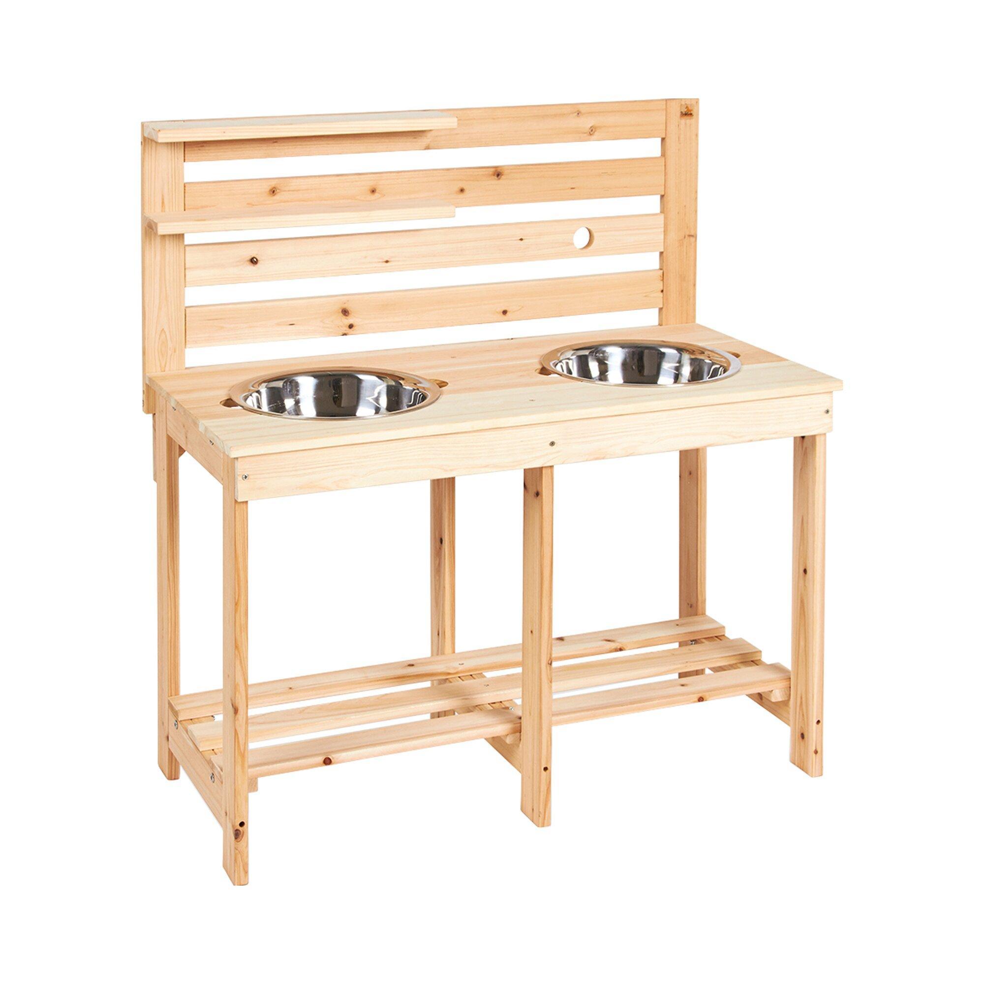 Matschküche Paul aus Holz