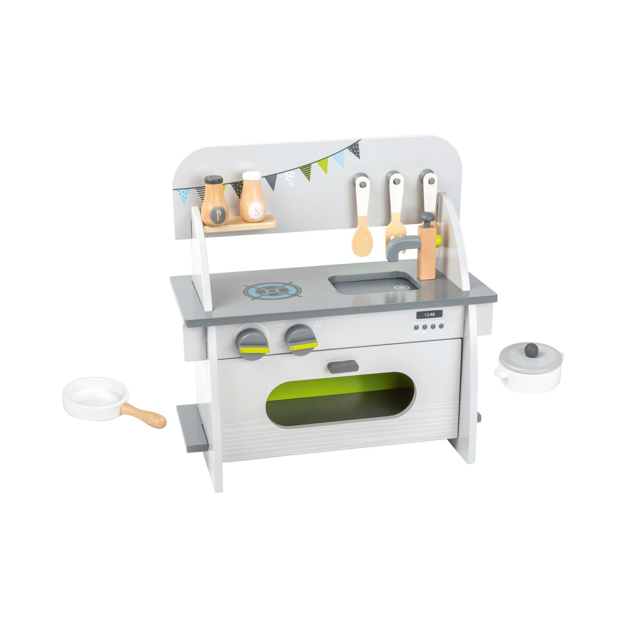 Kinderküche kompakt aus Holz