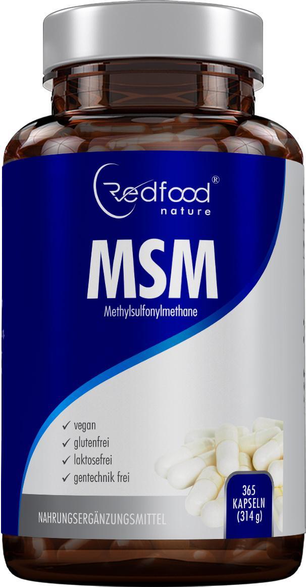 MSM Kapseln · Methylsulfonylmethan