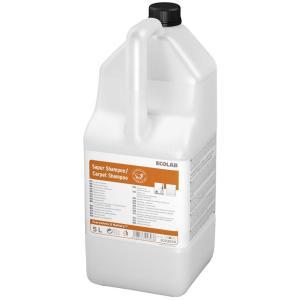 ECOLAB Sapur Shampoo / Carpet Shampoo Teppichreiniger, Konzentrat für die fasertiefe Reinigung von Teppichböden, 5 l - Kanister