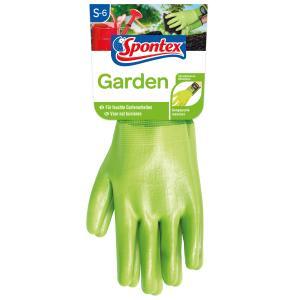 Spontex Garden Handschuhe, Nitrilhandschuhe für die Gartenarbeit, 1 Paar, Größe: 6
