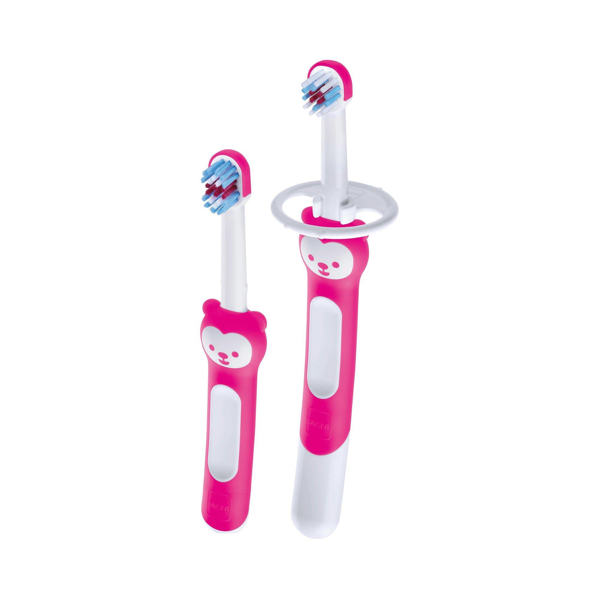 2er-Set Baby-Zahnbürsten