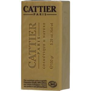 Cattier Reinigung Körperreinigung Weiße Heilerde & Gelbe Heilerde & Bio-Lavendelhonig Heilerde Seife mit Honig 150 g