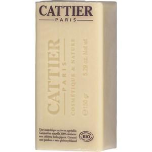 Cattier Pflege Körperpflege Weiße Heilerde & Bio-Sheabutter & Bio-Süßmandelöl Heilerde Seife Sheabutter 150 g
