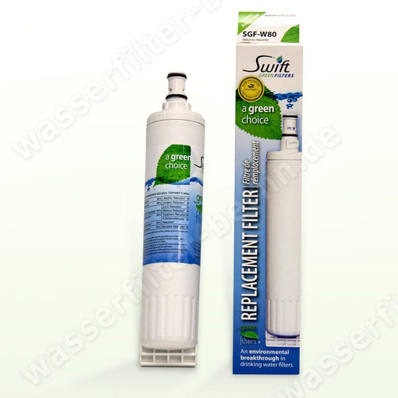 SGF-W80 Kühlschrankfilter für Whirlpool/ Bauknecht SBS 4396508, 4396510 etc.
