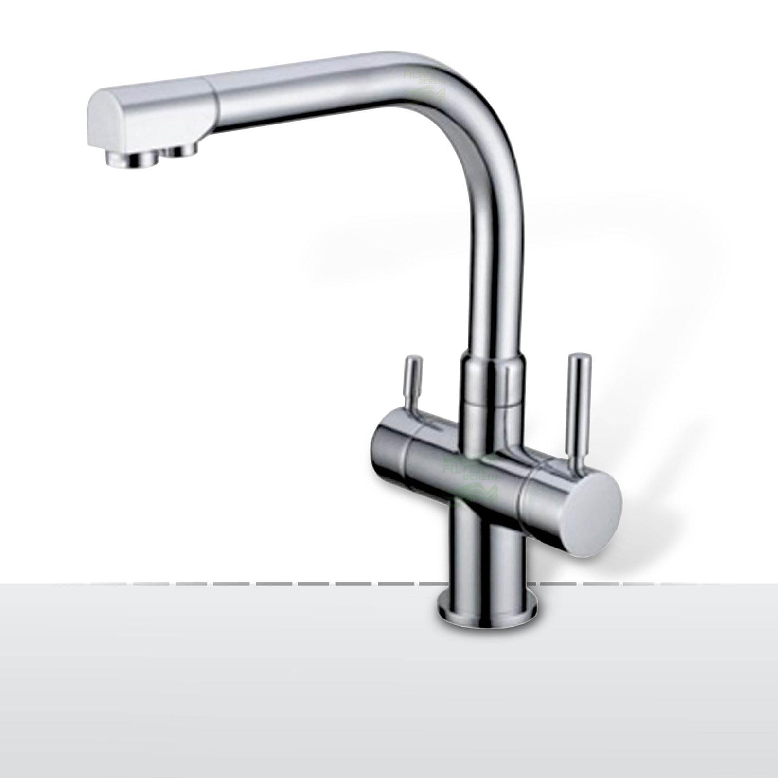 Design-Drei-Wege-Wasserhahn Valencia, 3-Wege-Wasserhahn